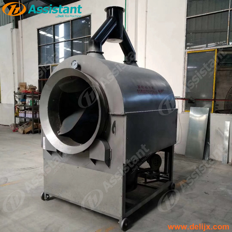 Green Tea Stir Drying Machine Rotating Drum Dryer 6CSTP-CM90