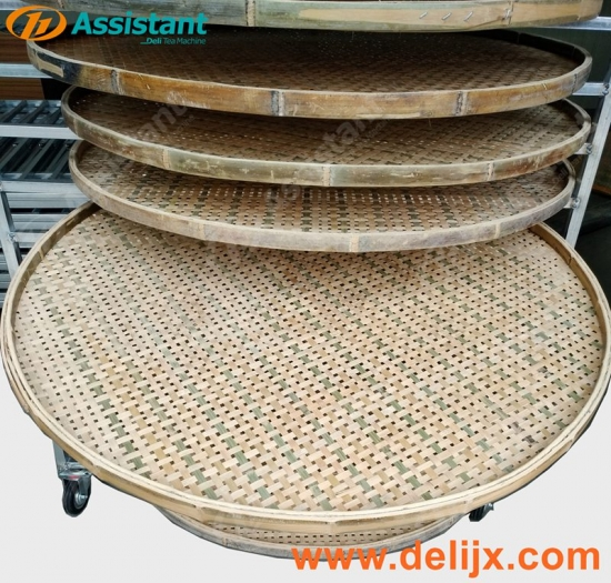 Bamboo Fresh Tea Leaf Wither Rack Plate