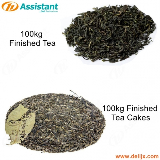 Pressed Tea Production Machine 100kg Puer Tea Cake Brick Processing Machine